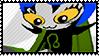 :33 playfully posts stamp by Dametora