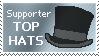 top hats by Dametora