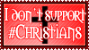 I don't support :devchristians: by Dametora