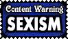 TW 22 SEXISM by Dametora