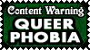 TW 28 QUEERPHOBIA by Dametora