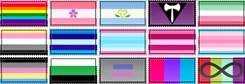 Pride Stamp Collection Batch 2