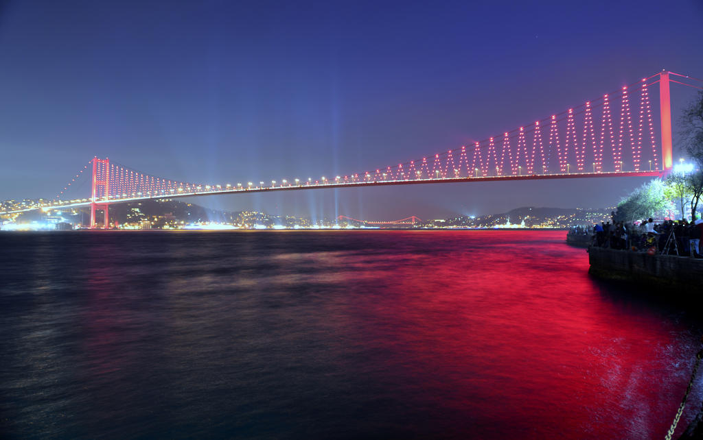 The Bosphorus Bridge by vabserk