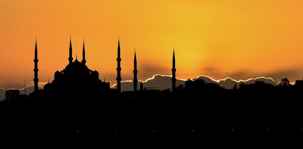 Blue Mosque by vabserk