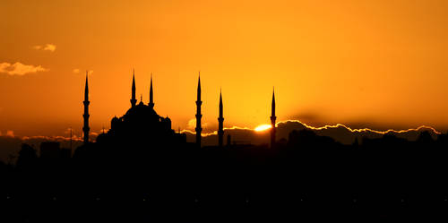 Sultanahmet Mosque by vabserk