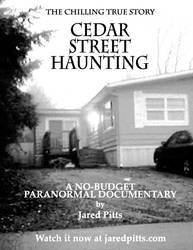 Cedar Street Haunting poster by j-pitts