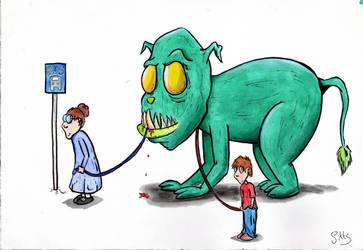 Green Monster Pet