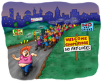 Fat Chicks by j-pitts