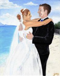 Wedding Portrait by j-pitts