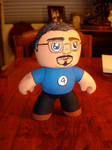 Custom made Mighty Muggs action figure