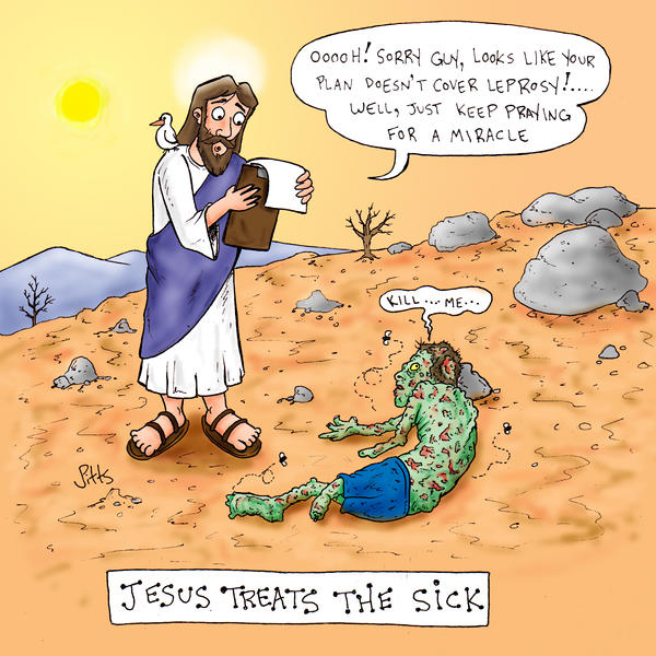 Jesus Treats the Sick