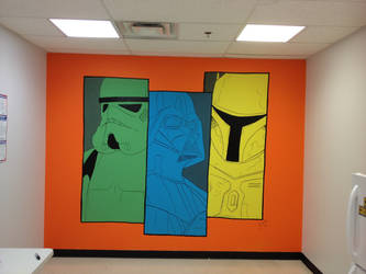 Galactic Empire Mural by j-pitts