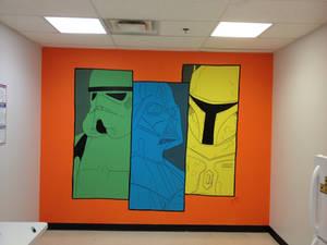 Galactic Empire Mural