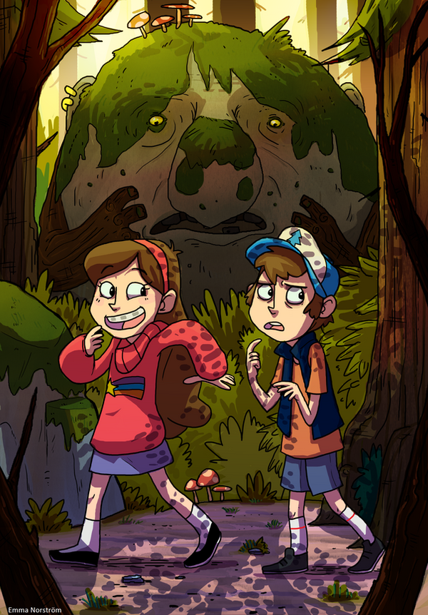 Gravity Falls by MeraMeraWolf
