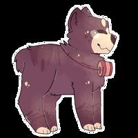 bear boyo   chibi commission   jomadis by rainbats