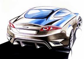 car sketch by maeda-takaaki