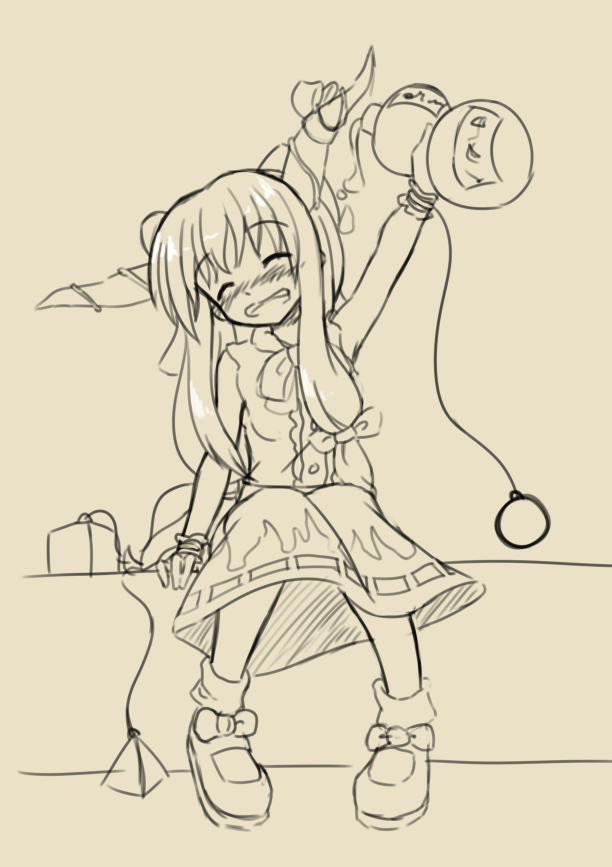 Drunk Suika by AnArtistApprentice