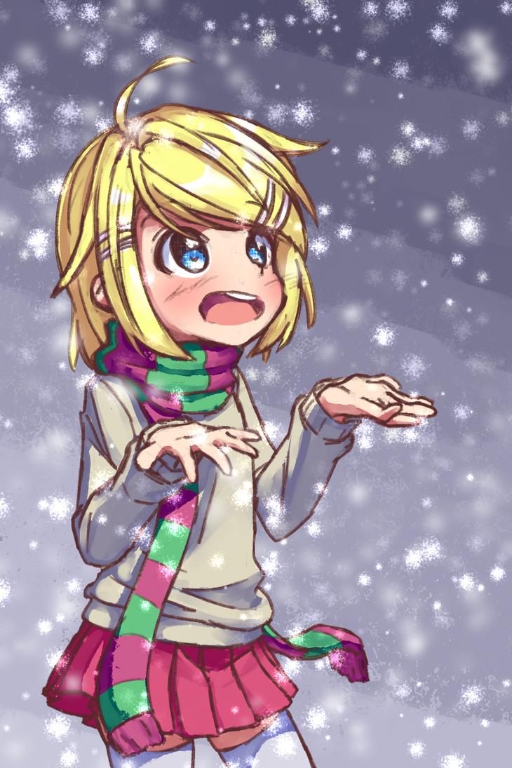 Snow Rin by AnArtistApprentice