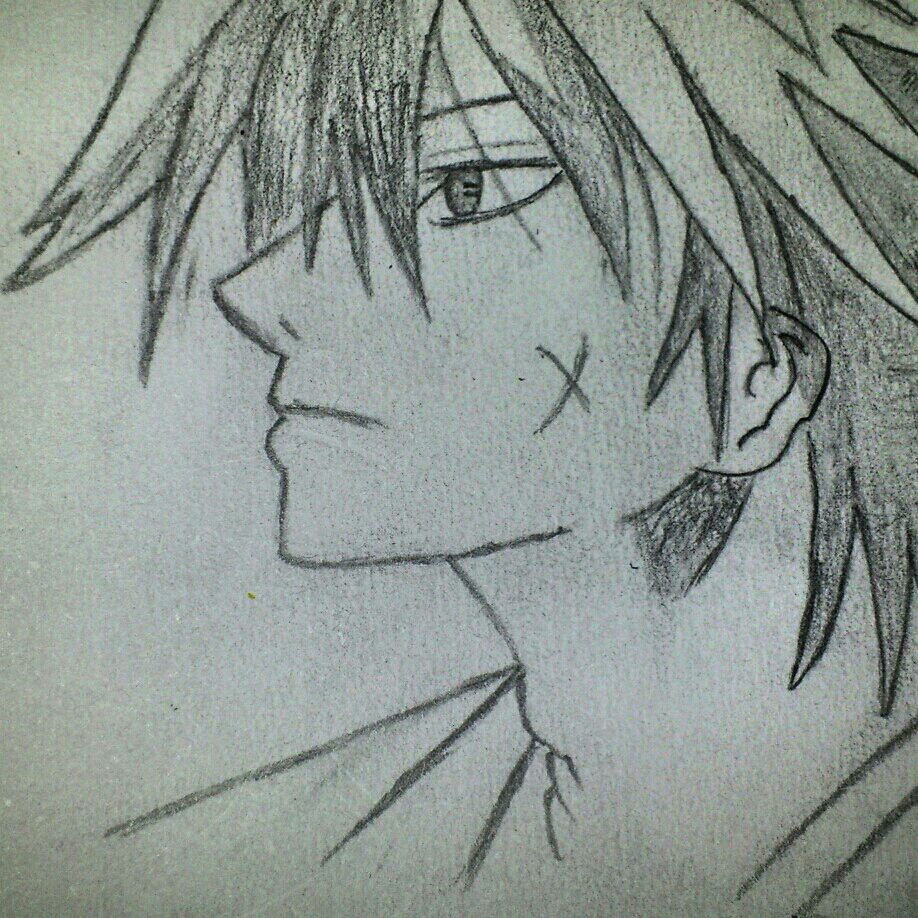 My Rurouni Kenshin Drawing By Takeodavid