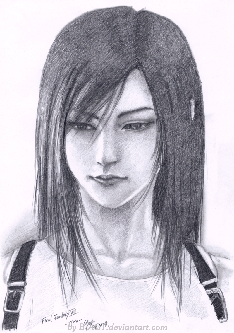 Tifa Final Fantasy VII 1 by B-AGT