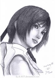 Yuffie from Final Fantasy VII by B-AGT