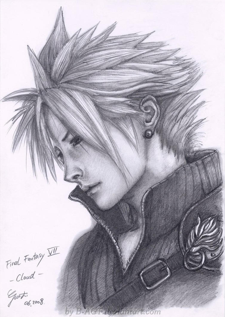 sexy final fantasy 7 drawings