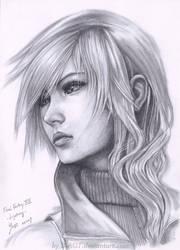 Lightning Final Fantasy XIII by B-AGT