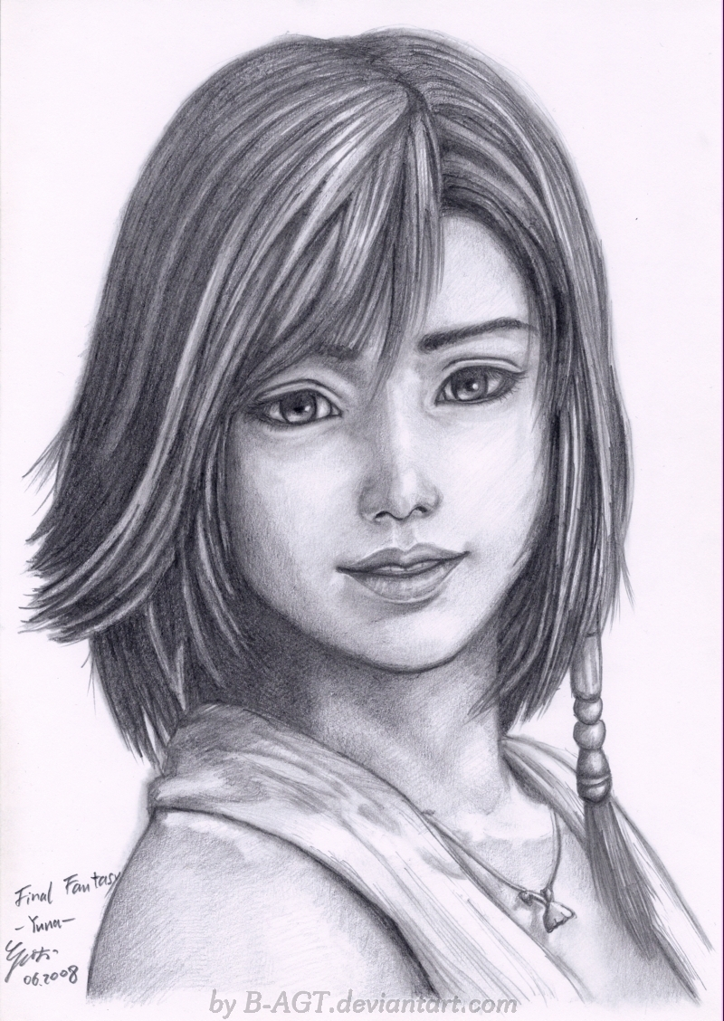 Yuna Final Fantasy X by B-AGT