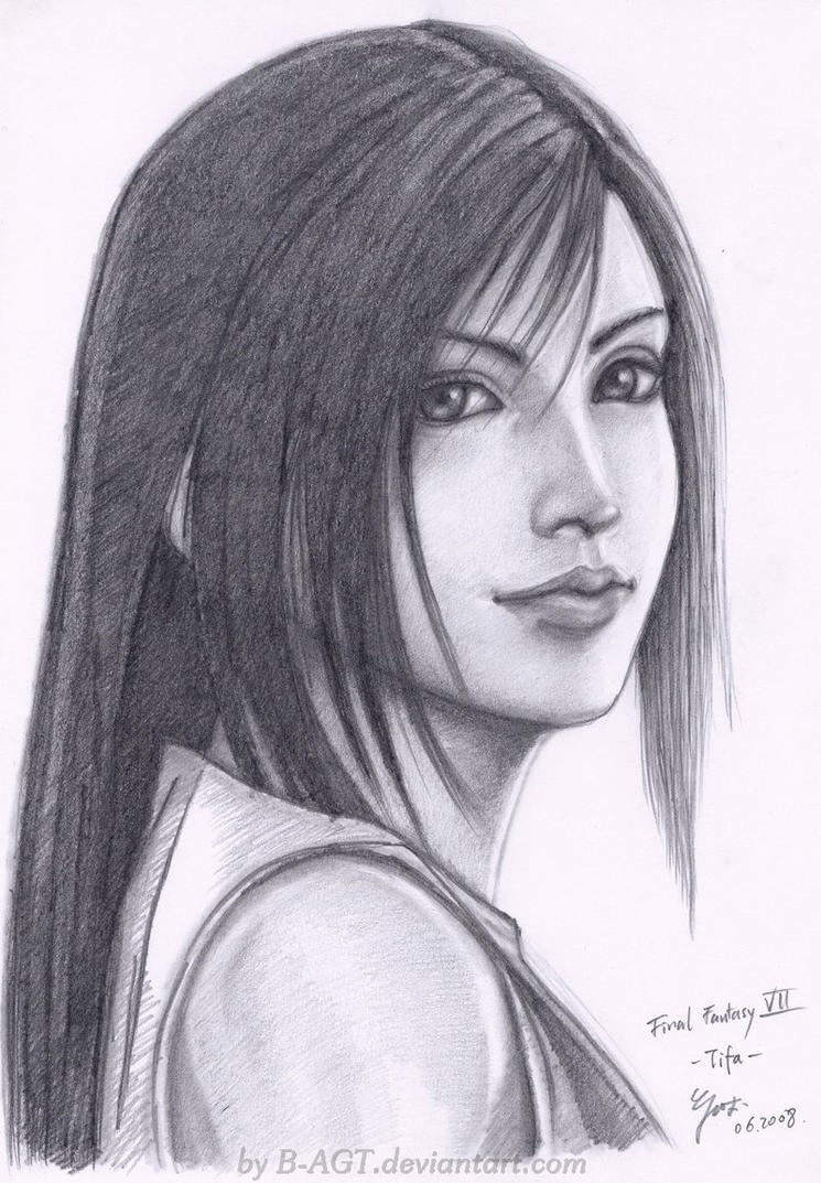 Tifa Final Fantasy VII 3 by B-AGT
