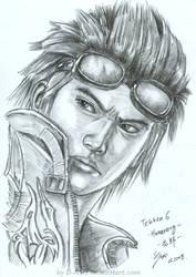 Hwoarang Tekken by B-AGT