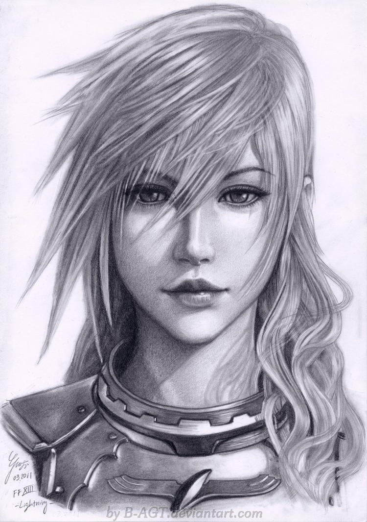 Lightning Final Fantasy XIII-2 by B-AGT