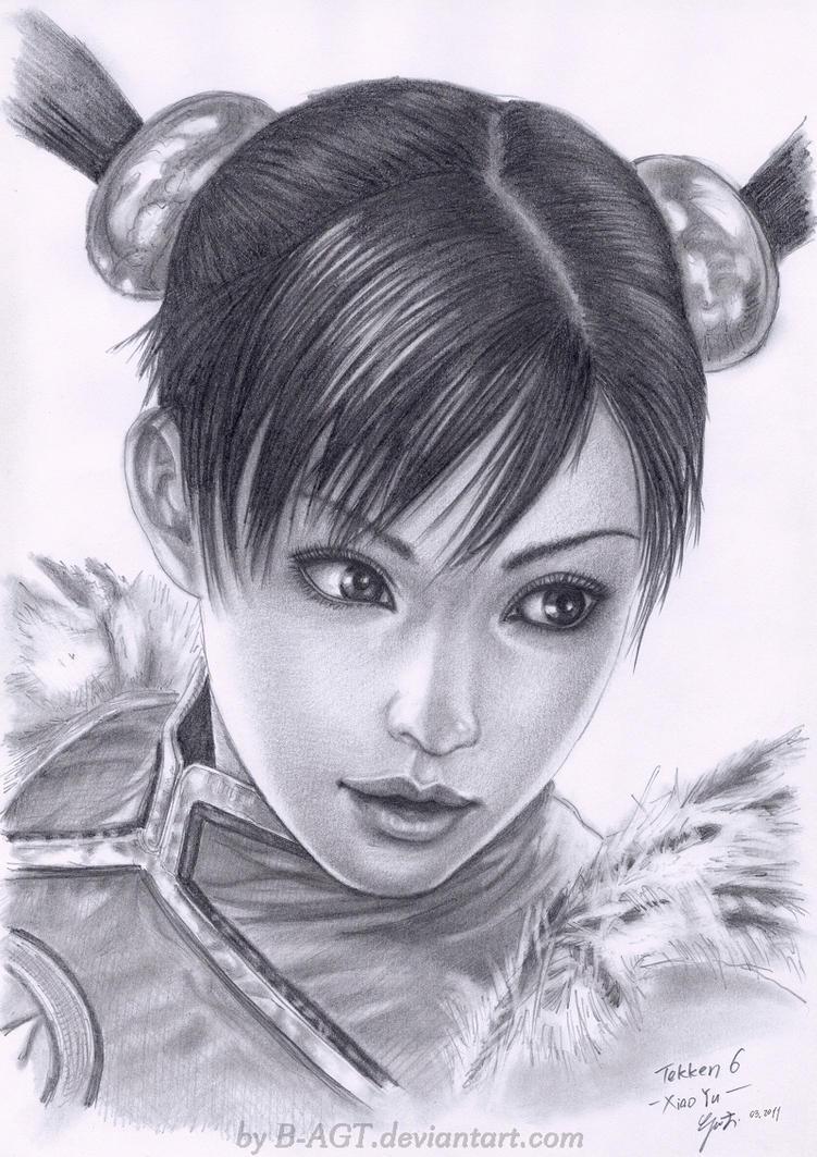 Ling XiaoYu Tekken by B-AGT