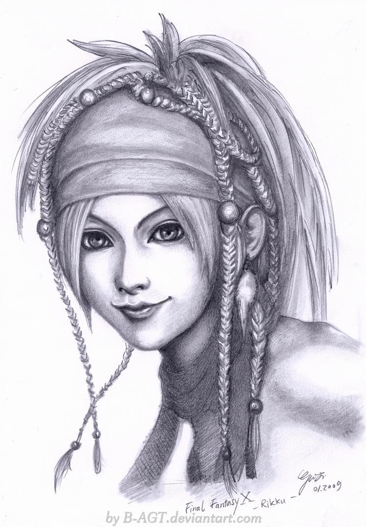 Rikku Final Fantasy X-2 by B-AGT on DeviantArt