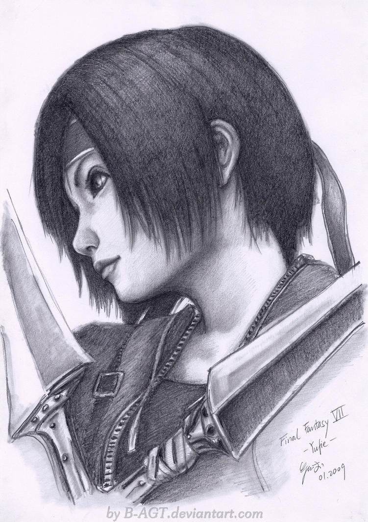 Yuffie Final Fantasy VII 2 by B-AGT