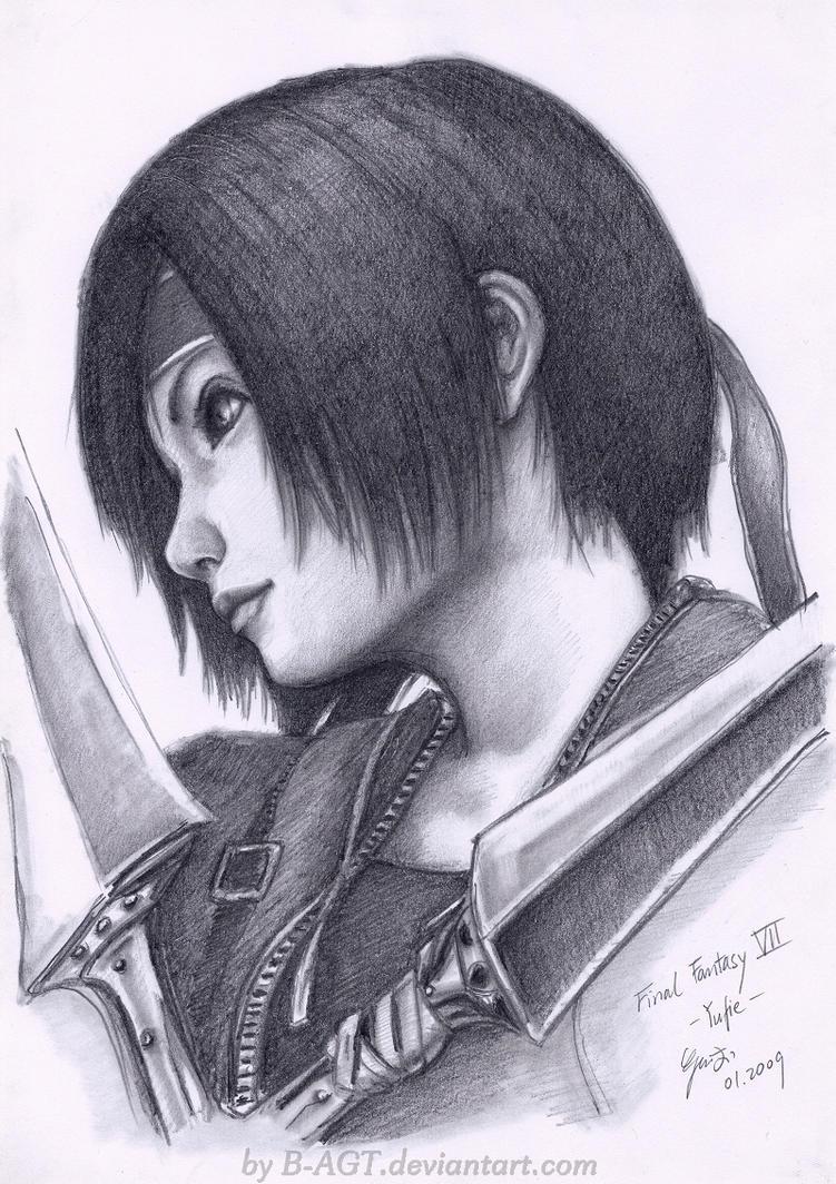Yuffie Final Fantasy VII 2 by B-AGT