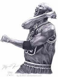Michael Jordan - Bulls 23 by B-AGT