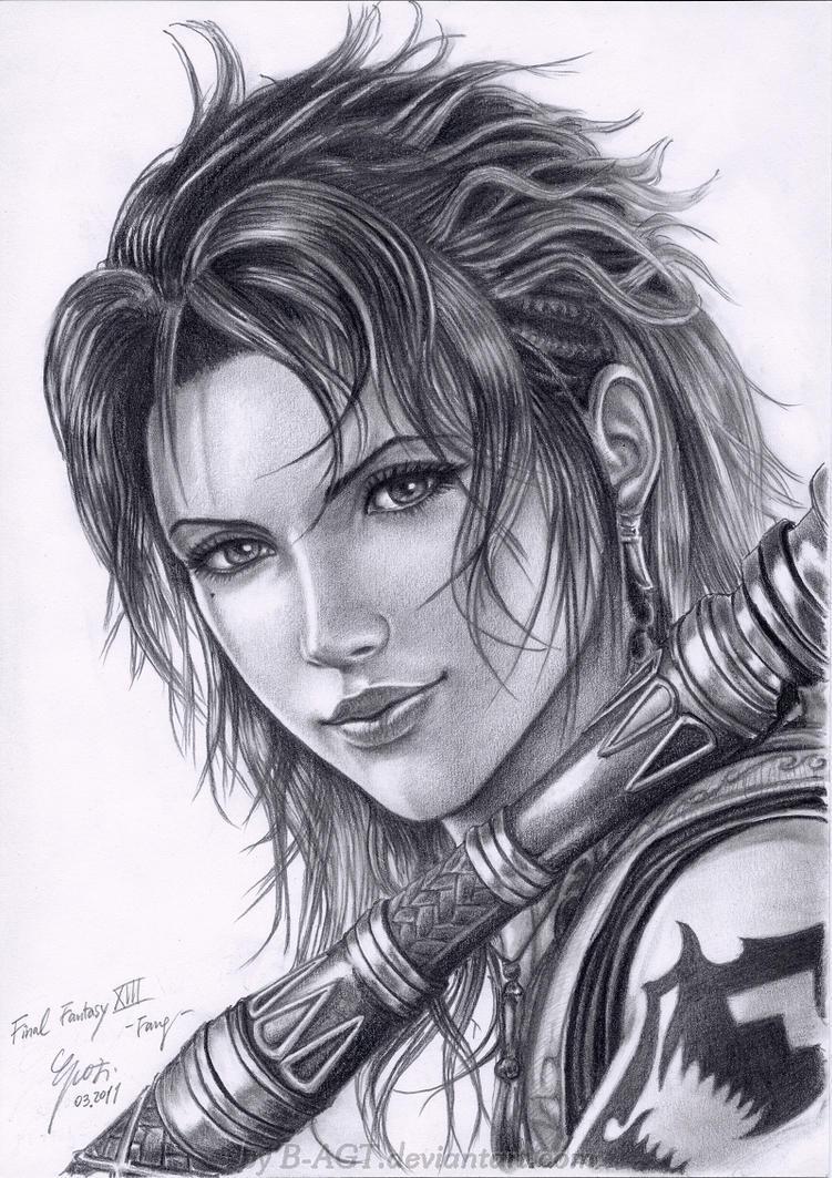 Fang - 2 Final Fantasy XIII by B-AGT on DeviantArt