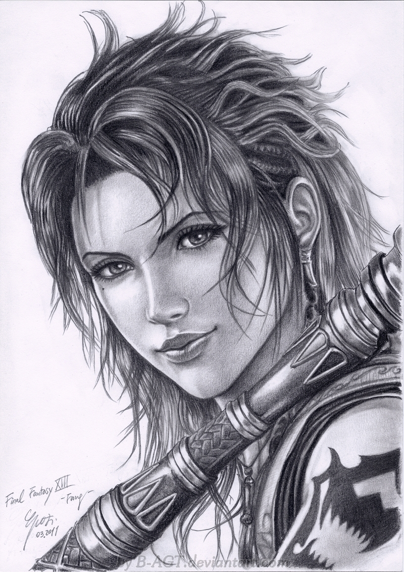 Fang - 2 Final Fantasy XIII by B-AGT