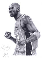 Kobe Bryant L.A. Lakers by B-AGT