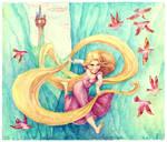 Rapunzel 5 Disney Tangled