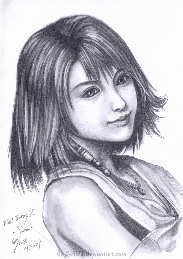 Yuna 2 Final Fantasy X by B-AGT