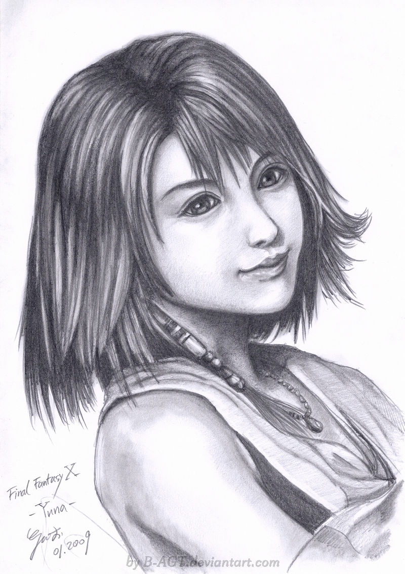 Yuna 2 Final Fantasy X by B-AGT