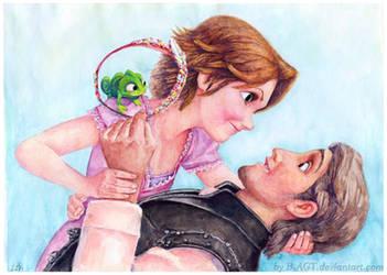 Rapunzel 6 Disney Tangled by B-AGT