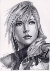 Lightning 2 Final Fantasy XIII by B-AGT