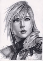 Lightning 2 Final Fantasy XIII by B-AGT