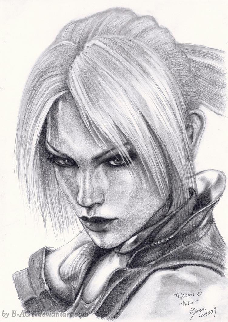 Nina Williams Tekken by B-AGT