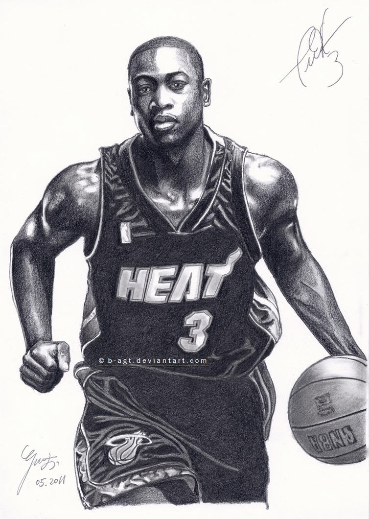 Dwyane Wade - Miami Heat by B-AGT