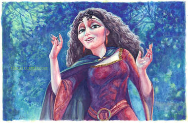 Mother Gothel by B-AGT