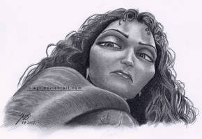 Gothel Drawing by B-AGT