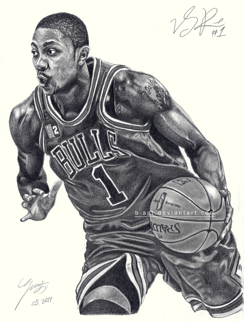 Derrick Rose by B-AGT